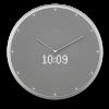Glance Clock silver_02