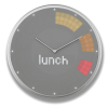 Glance Clock silver_05