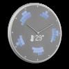 Glance Clock silver_08