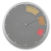 Glance Clock silver_12
