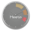 Glance Clock silver_13