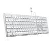 Satechi Aluminium kabelgebundene Tastatur_silber_08