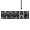 Satechi Aluminium kabelgebundene Tastatur_space grey_01