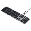 Satechi Aluminium kabelgebundene Tastatur_space grey_02
