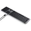 Satechi Aluminium kabelgebundene Tastatur_space grey_03