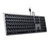 Satechi Aluminium kabelgebundene Tastatur_space grey_08