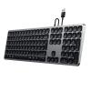 Satechi Aluminium kabelgebundene Tastatur_space grey_09