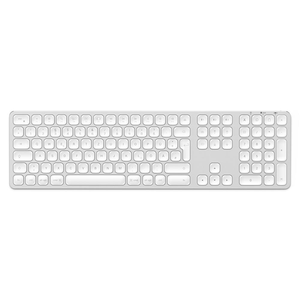 Satechi Aluminium Bluetooth Tastatur_silber_01